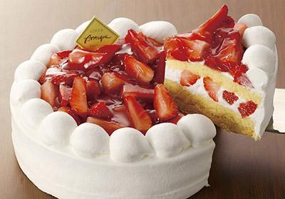 誕生日の定番 いちごのデコレーションケーキ Happy Birthday Project