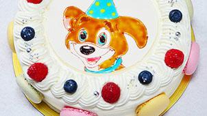 好みのキャラクターを描いてくれるキャラケーキ