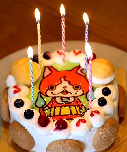 キャラクターケーキ 妖怪ウォッチのケーキ