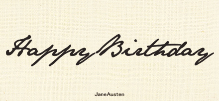 Jane Austen フォント