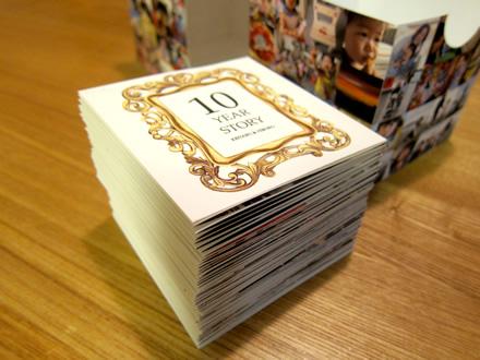 思い出つながる写真いっぱいジャバラカード(BOX付き!)