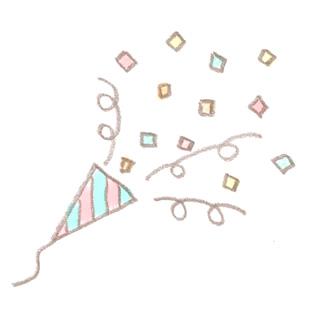クラッカーのイラスト 無料で使える 誕生日のフリー素材 商用利用 加工可 Happy Birthday Project