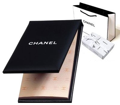 CHANEL(シャネル) PAPIER MATIFIANT DE CHANEL シャネル オイルコントロールティッシュ あぶらとり紙 ミラー付 シャネル オリジナルラッピング ショップバッグ付