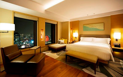 インターコンチネンタルホテル大阪/客室内写真