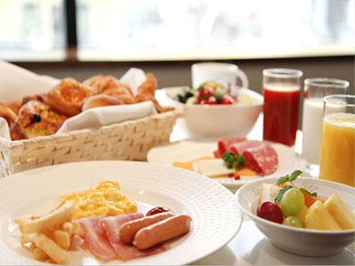ホテル日航大阪/朝食写真