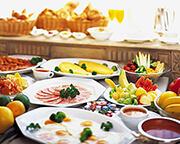 選べる朝食付き