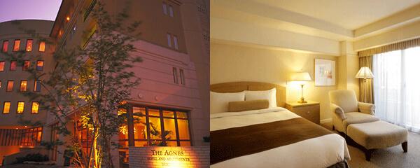 アグネス ホテル アンド アパートメンツ 東京 彼氏の誕生日祝いに人気のホテルランキング