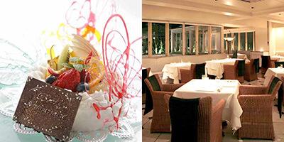 キャーヴ・ド・ひらまつ ロゼスパークリング&ホールケーキ付き!フォアグラのスペシャリテ×Wメインの8皿コース 彼氏の誕生日祝いに人気のレストランランキング
