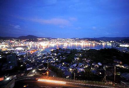 長崎ホテル清風 夜景