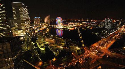 ニューオータニイン横浜 夜景