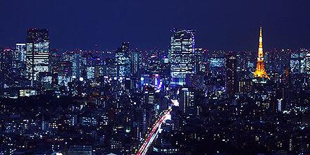 セルリアンタワー東急ホテル 夜景