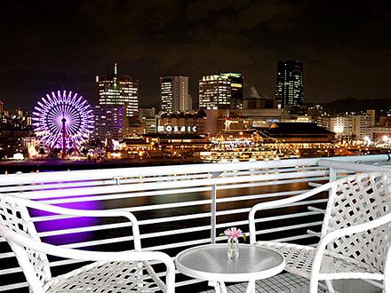 神戸メリケンパークオリエンタルホテル 夜景