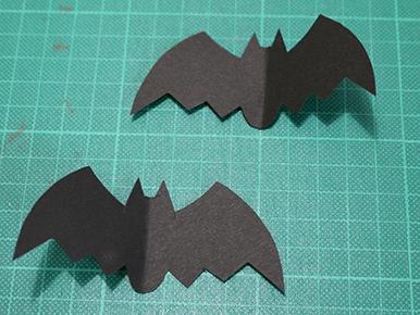 ハート 折り紙 : 折り紙コウモリの作り方 : hapiba.com