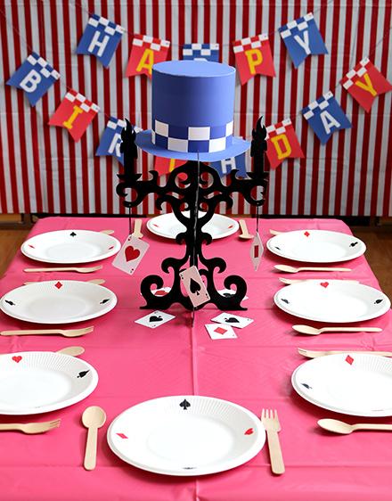 怪盗ジョーカーをテーマにした9歳女の子の誕生日パーティー演出アイデア