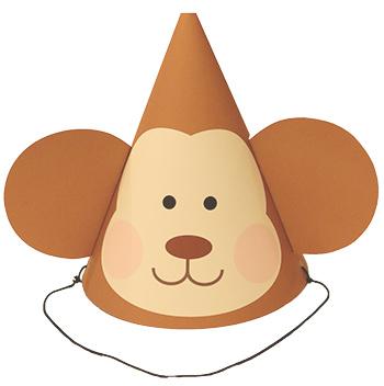 2016年お正月向けパーティーハット 猿の帽子 DIY 手作り帽子 無料素材
