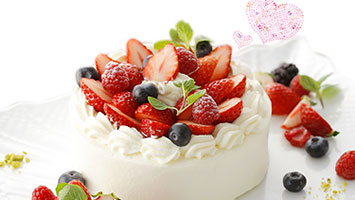 誕生日ケーキ付きディナー特集