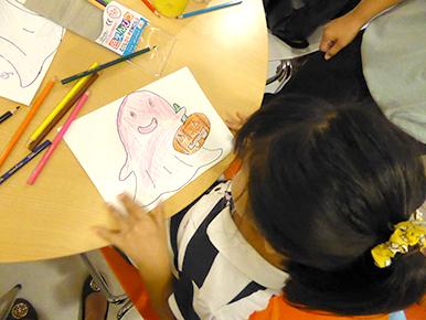 子どもが楽しめるアクティビティ 塗り絵