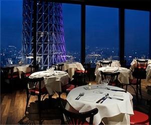 ブラッスリーオザミ 東京スカイツリータウン・ソラマチ スカイツリーが見えるレストラン