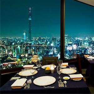 蒔絵/浅草ビューホテル スカイツリーが見えるレストラン