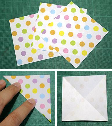 ハート 折り紙 折り紙 ガーランド 作り方 : hapiba.com