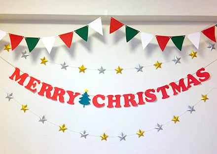 「クリスマス 画用紙 飾り付け」の画像検索結果