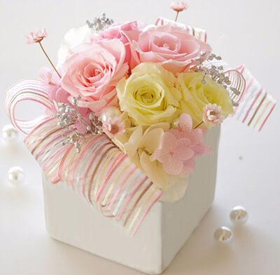 ファンタジー ピンク 誕生日の花束・ブーケ・フラワーギフト