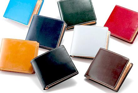 「ブライドルレザー二つ折り財布」男が欲しい!バレンタインプレゼント
