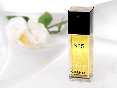 シャネル N°5(オードトワレ)50ml(名入れ香水) 彼女の誕生日プレゼント