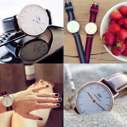 ダニエルウェリントンの時計 彼女の誕生日プレゼント