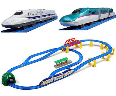 プラレール 新幹線とレールセッ 子供の男の子のプレゼント