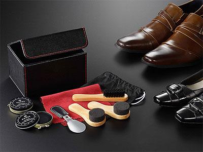 【靴磨き】シューシャインセット お父さんが喜ぶプレゼント