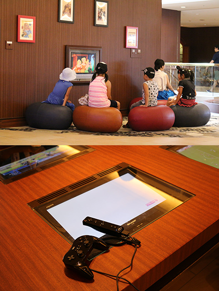 シェラトン・グランデ・トーキョーベイ・ホテル ディズニーアニメ