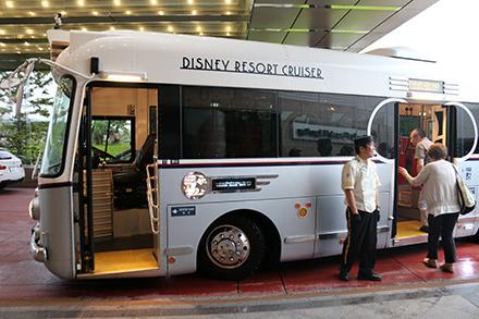 シェラトン・グランデ・トーキョーベイ・ホテル ディズニーバス