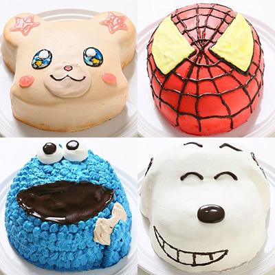 好きなキャラクターの顔の立体ケーキ
