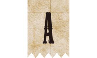 アルファベット&数字のパイレーツ(海賊)フラッグ素材