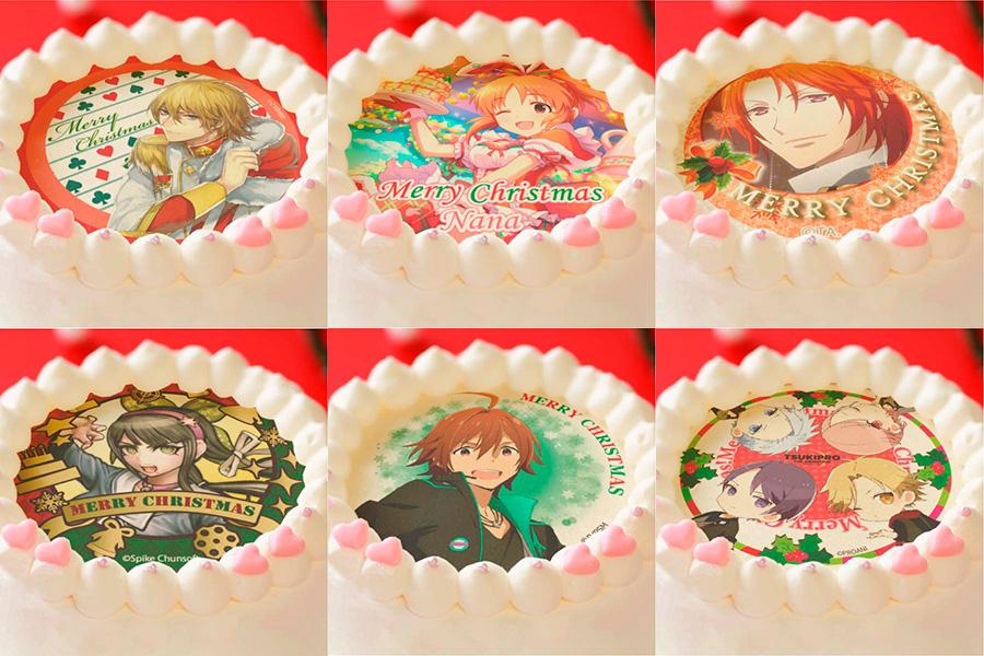 アニメキャラクターのクリスマスプリントケーキ「プリロール」