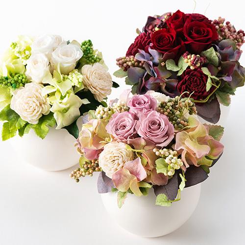 宮内庁御用達の老舗生花店「花茂」が贈るプリザーブドフラワーギフト