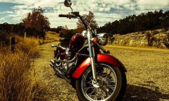 バイクを使った誕生日サプライズ
