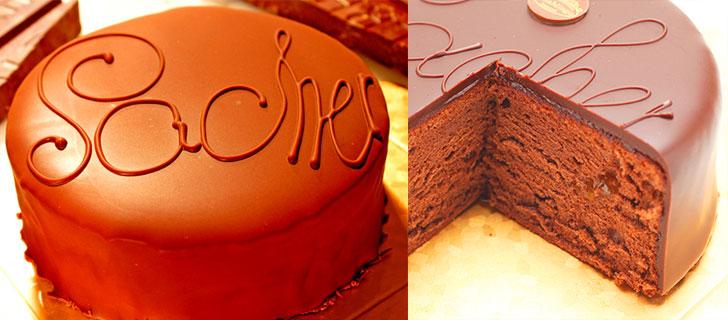 最高級洋菓子 ウィーンの銘菓ザッハートルテ チョコレートケーキ