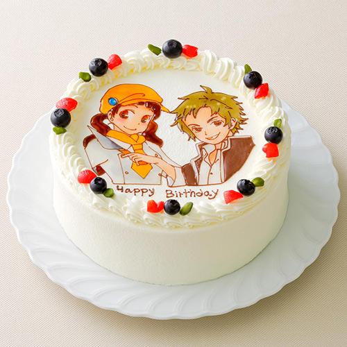 好きなキャラクターを描いてくれるオーダーケーキ