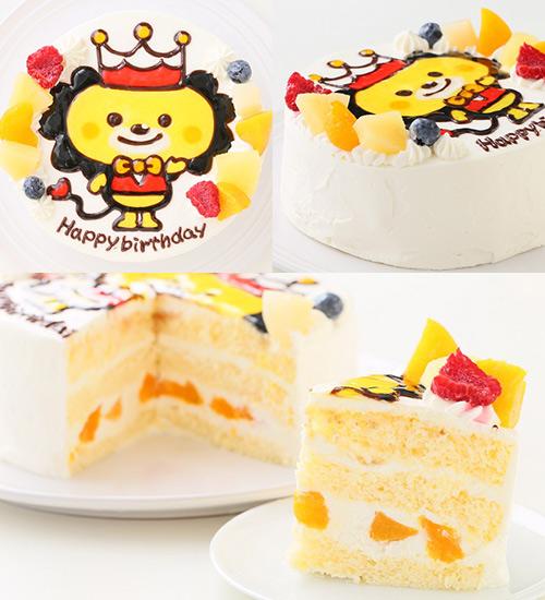 人気のキャラクターケーキ、イラストケーキ