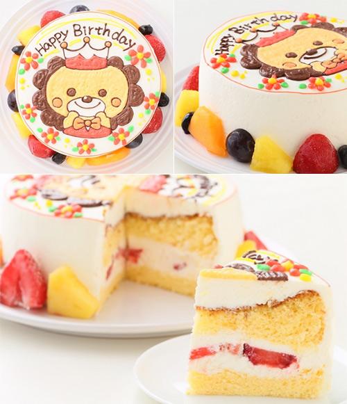 エルショコラのキャラクターケーキ