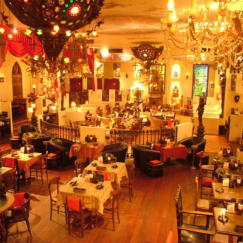 キリストンカフェ東京(新宿)おっさんずラブの撮影に使われたレストラン