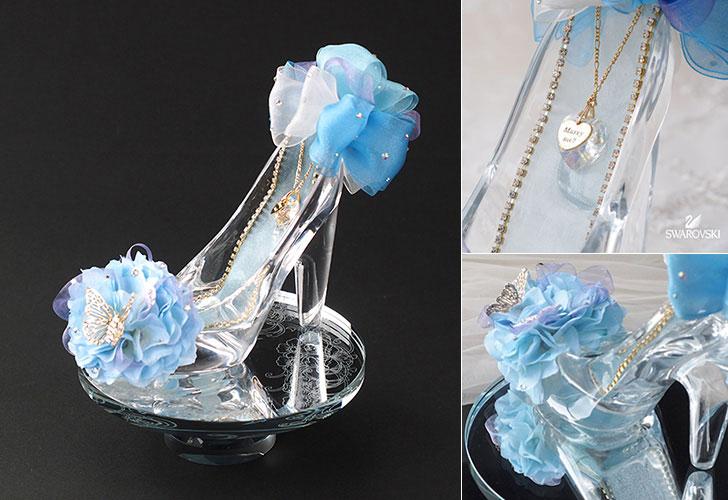 彼女の夢を叶えるシンデレラ・プロポーズ!「プロポーズ・シンデレラの靴」 プロポーズギフト プレゼント