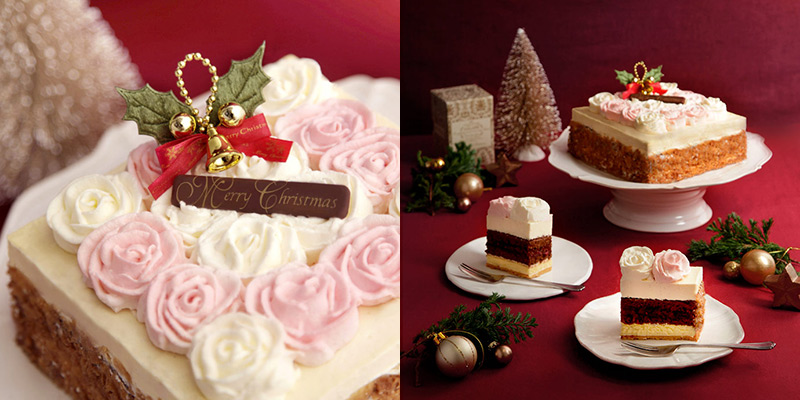 クリックオンケーキのクリスマスケーキ