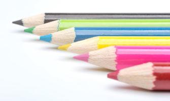 彫刻鉛筆でサプライズ