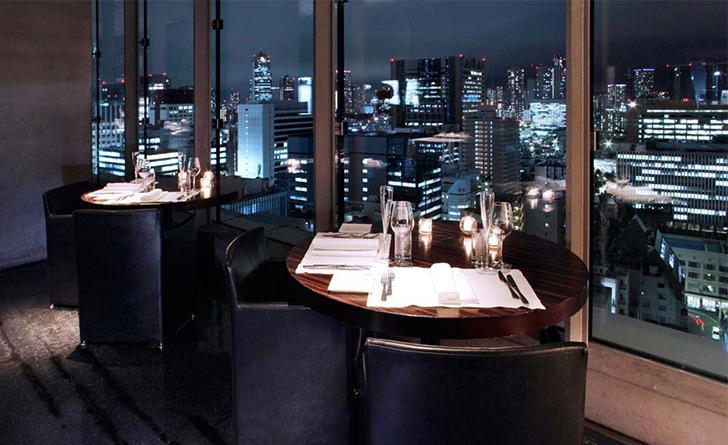 東京都・銀座/イタリアン sky(スカイ)/三井ガーデンホテル銀座プレミア