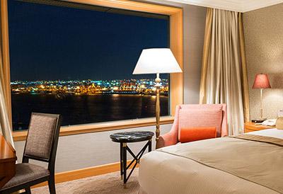 グランドニッコー東京 台場 お台場(東京ベイエリア)の夜景が見えるホテル