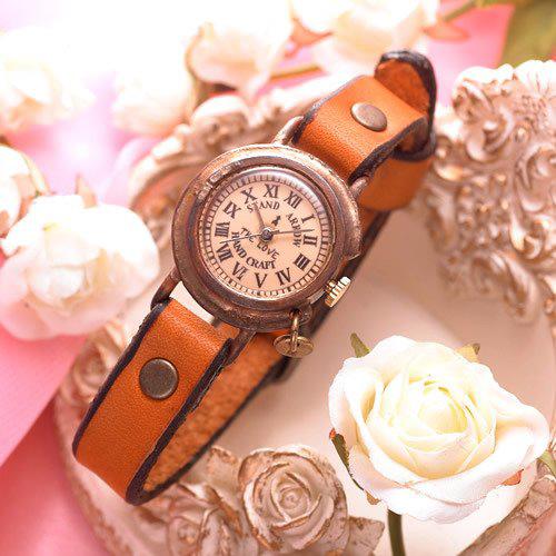 ハンドメイド・アンティークレディース腕時計「THE LOVE four」
