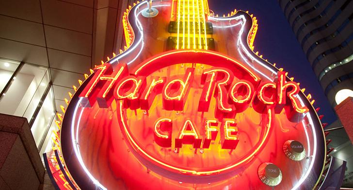 ハードロックカフェのイメージ写真